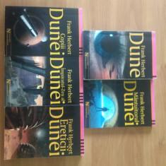 60% REDUCERE - Seria completa Dune - Frank Herbert colectia Nautilus