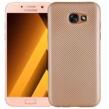 Husa Samsung Galaxy J5 2017 i-Zore Carbon Fiber Auriu, Carcasa