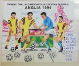 1996 Turneul final al Camp. European de Fotbal Anglia'96 Bl.300 LP1410 MNH, Sport, Nestampilat