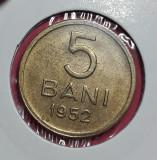 A5687 5 bani 1952 UNC