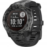 Smartwatch Instinct Solar Camo Edition GPS Graphite Gri, Garmin