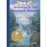 Aventurile lui Sherlock Holmes. Repovestire după scrierile semnate de Sir Arthur Conan Doyle. Editia a II-a - Chris Sasaki