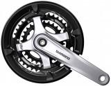 Angrenaj pedalier Shimano FC-TY701,48x38x28 ,pt. 6/7/8viteze,175mm,negru/griPB Cod:SHI-67018