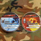 500 ALICE 4.5 UMAREX BOSQUITO + 500 ALICE UMAREX COBRA 4.5 MM