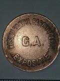 Cumpara ieftin JETON ANII 1900 - 20 LEI -RESTAURANTUL PARCUL CAROL EXPOSITIE G.A.