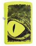 Cumpara ieftin Brichetă Zippo 29414 Alligator Green Eye Neon Yellow