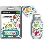 Memorie USB Integral Xpression Birds 16GB USB 2.0