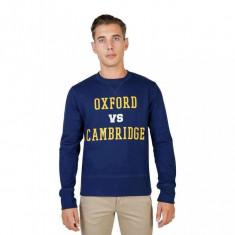 Hanorac Oxford University - OXFORD-FLEECE-CREWNECK - Bărbați - Albastru