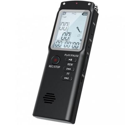 Mini Reportofon Profesional iUni SpyMic REP06, Memorie 8GB, MP3 Player foto