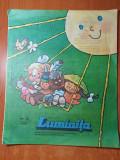 luminita iunie 1981-revista editata de consiliul national al pionierilor