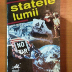 STATELE LUMII , MICA ENCICLOPEDIE EDITIA A V-A de H. C. MATEI , S. NEGUT , I. NICOLAE , N. STEFLEA , 1993