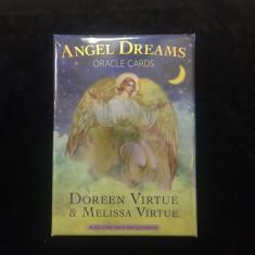 Angel Dreams-Carti ORACOL/TAROT ed lux(AURII)-ORIGINAL/Sigilat-LIVRARE IMEDIAT