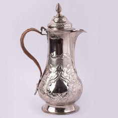 Carafa,cana mare argint 925/1000 Londra AN 1773 , 1.2 litri OCAZIE! RARITATE
