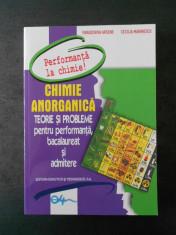 PARASCHIVA ARSENE, CECILIA MARINESCU - CHIMIE ANORGANICA. TEORIE SI PROBLEME foto