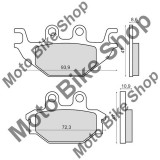 MBS Placute frana Kymco KXR 250 fata, Cod Produs: 225103070RM