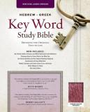 Hebrew-Greek Key Word Study Bible: New King James Version Genuine Leather Burgundy