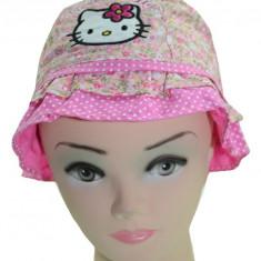 Palarie pentru fetite Hello Kitty-Sun City ME4130R, Roz