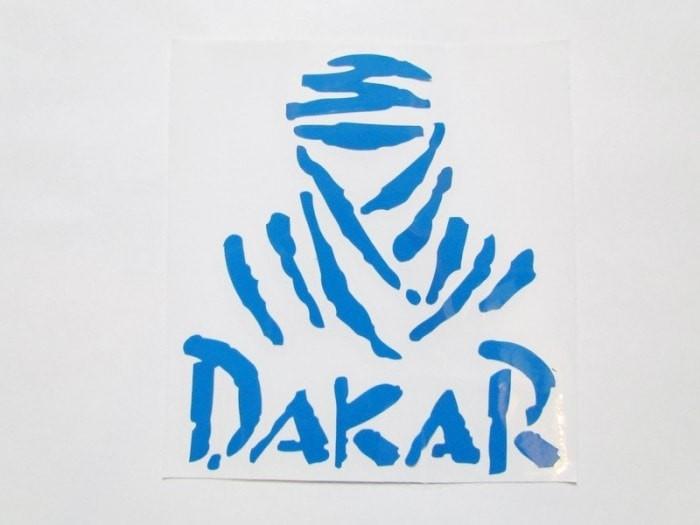 """Abtibild DZ-58A """"DAKAR"""" ALBASTRU"""
