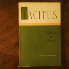 Tacitus Opere II. Istorii, cu dedicatia si autograful traducatorului