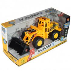 Tractor cu cupa - Builder cu lumini si sunete