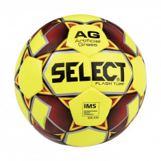 FB Flash Turf soccer ball galben-rosu n. 4