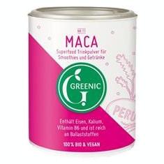 Pudra Bio din Maca Greenic R 100gr Cod: 752398