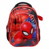 Set ghiozdan si umbrela gradinita, model Spiderman, 33x25x13 cm
