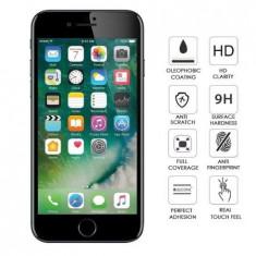 Folie protectie din sticla pentru Iphone 7/8 Plus, full cover, negru