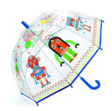 Umbrela colorata Djeco Roboti
