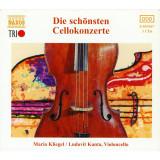 HAYDN / BOCCHERINI / DVORAK / SAINT-SAENS : Die schonsten Cellokonzerte ( 3 CD )