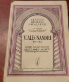 VASILE ALECSANDRI PROZA CLASICI ROMANI COMENTATI ALEXANDRU MARCU