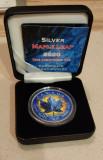 Moneda Argint Canada 5 Dollars 2020.Maple Leaf 1 oz .Ice Limited Ed 500 buc, America de Nord