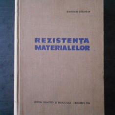 GHEORGHE BUZDUGAN - REZISTENTA MATERIALELOR