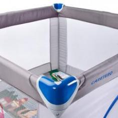 Tarc de joaca Caretero TRAVELER 100x100 cm Grey