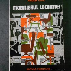 NICOLAE CUCU - MOBILIERUL LOCUINTEI. TRADITIE SI MODERNITATE