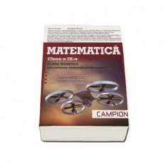 Matematica. Clasa a IX-a. Filiera teoretica. Specializarea matematica-informatica | Marius Burtea, Georgeta Burtea