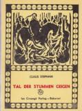 Tal der stummen Geigen - Volkserzählungen aus dem Oascher und Sathamarer Land, Holzschnitte von Ernst Schuller