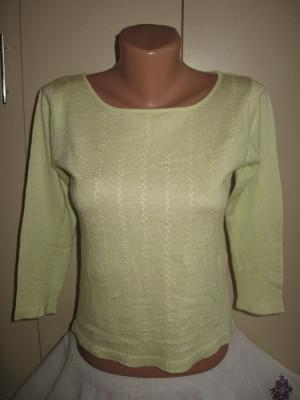 Bluza casmir/ matase fina Mar M foto