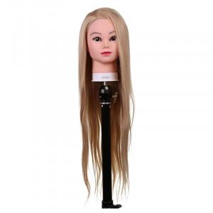 Cap practica 4A, 80 cm, blond, suport inclus