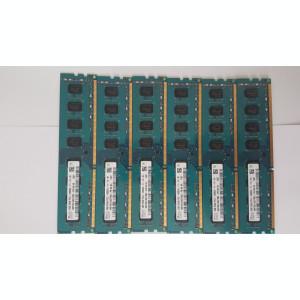 Kit 8 GB( 2 x 4 Gb )  HYNIX DDR 3 PC3-12800U 1600 MHz , Memorie PC Desktop