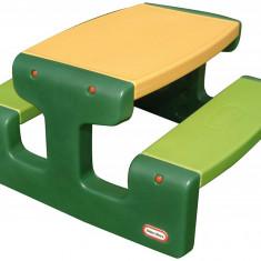 Masa de picnic Little Tikes pentru 6 copii verde