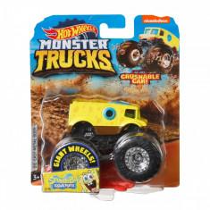 Masinuta Hot Wheels Monster Truck, SpongeBob, GJF47