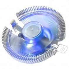 Cooler procesor Segotep Frost Castle 90, Iluminare LED albastru