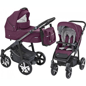 Carucior Multifunctional Baby Design Husky 06 Violet 2019 (winter pack)