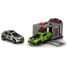 Pista de masini Dickie Toys Prison Break cu 2 masini