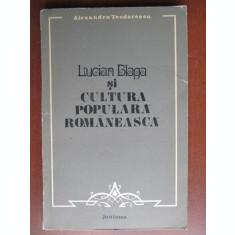 Lucian Blaga si cultura populara romaneasca
