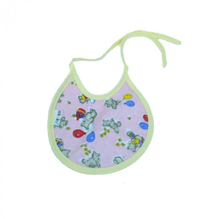 Baveta din bumbac pentru bebelusi Akuku A1600-VE, Multicolor