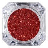 Cumpara ieftin Sclipici Glitter Unghii Pulbere LUXORISE, Rosu Intens #31