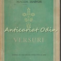 Versuri - Magda Isanos - Tiraj: 3100 Exemplare