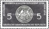 GERMANIA DDR 1958  SERIE NESTAMPILATA. 2 VALORI